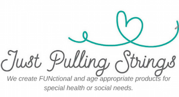 Just Pulling Strings Logo