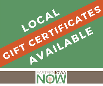 Local Gift Certificates Available Logo