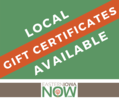Local Gift Certificates Available