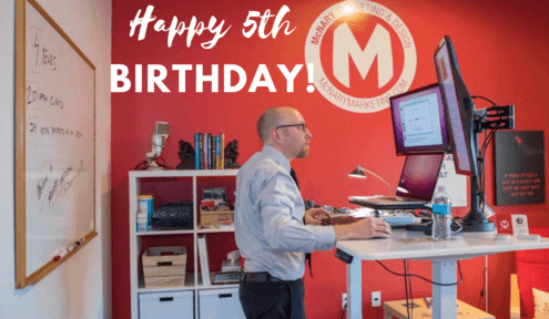 McNary Marketing & Design celebrates 5-year Anniversary